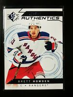 Brett Howden - 2018-19 SP Retail Blue #102 Rookie Authentics RC New York Rangers