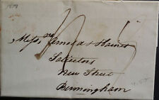 More details for gb qv pre stamp 1837 entire with content to solicitors birmingham