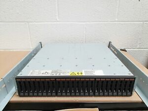 IBM Storwize V3700 21.6TB (24x 900GB 10K) 1G iSCSI 8G Fibre Channel SAN Array