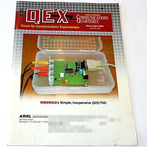 ARRL QEX MAGAZINE Mar/Apr 2005 HAM/AMATEUR RADIO TNC/Phased Vertical Arrays Ant.