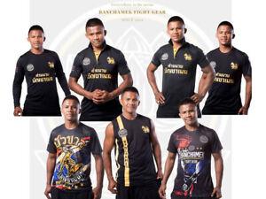 Black T-Shirt Banchamek Buakaw Soft Thai Fighter Muay Thai