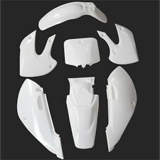 White KLX110 PLASTICS KIT DIRT BIKE 140/150/160/200CC ATOMIK THUMPSTAR PITPRO