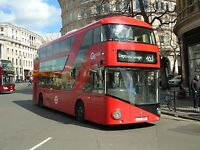 New bus for London - Borismaster LTZ1289 Go Ahead London 6x4 Quality Bus Photo