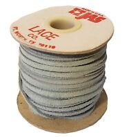 "x 25 yds Navy Blue 3 mm 1 spool Vintage TEJAS Genuine Suede Lace Cord 1//8/"""