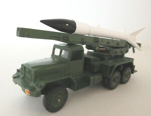 Dinky Toys Army Military Honest John Missile Launcher  Dinky Toys Military Model