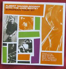 ALBERT MANGELSDORFF JAZZ SEXTET CD EUROPEAN TOUR '57