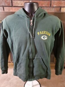 GREEN BAY PACKERS Super Bowl NFL Football Hooded SWEATSHIRT Womens Size Large