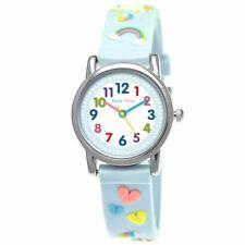 Pure Time® Mädchen Einhorn Pferd Pony Unicorn Kinder Uhr Mädchenuhr Türkis Blau