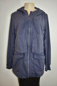 LULULEMON Dark Purple Women's Hooded Jacket Size 8 On Sale