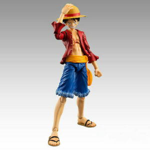 One Piece Straw Hat Monkey D Luffy Figurine PVC Action Figure Toy Anime Figma