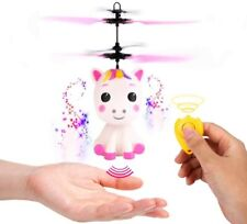 Flying Unicorn Toys Flying Fairy Toys for 3 4 5 6 7 8 9 Year Old Girls Boys Kids