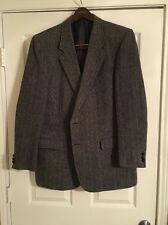 JEAN PAUL GERMAIN Men's Gray Wool Tweed Sport Coat Blazer JACKET Size 44L