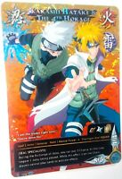 Carte Naruto Custom Collectible Card Game CCG Foil Fancard #21 Kakashi Hatake