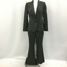New Next Jacket Trousers UK 10 Grey Black Women's Casual Petite Polyester 282987