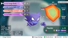 Pokemon Let's Go Shiny Haunter Max 6IV / AV [Fast Delivery] Original Owner