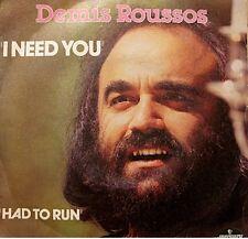 ++DEMIS ROUSSOS i need you/had to run SP 1980 MERCURY VG++