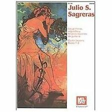 Mel Bay Julio S. Sagreras Guitar Lessons: Books 1-3 (English and Spanish Editio