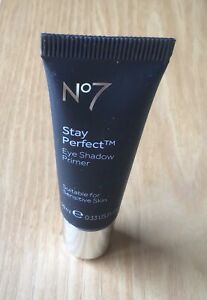 No7 Stay Perfect Eye Shadow Primer For Sensitive Skin   10ml - Travel size