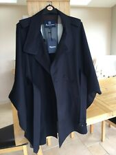 Aquascutum Of London Piccadilly Cape Navy Size XL