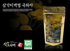 WILD Natural Korean Chrysanthemum Triangle Tea bag 20ea/ Organic No pesticide