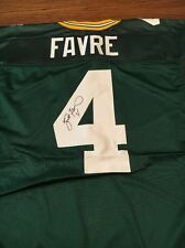 Brett Favre Autographed Wilson Official Authentic Game Jersey