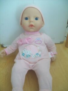 """ZAPF CREATIONS MY FIRST BABY ANNABELL14""""  DOLL Complete with Matching Hat"""