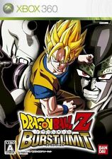New Xbox360 Dragon Ball Z: Burst Limit Japan Import