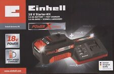 NEU  OVP  Einhell Power X-Change 18V Starter Kit — 3,0 Ah Akku + Ladegerät