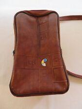 Vintage Eastman Kodak EK Camera Case Soft Padded Vinyl Zipper Bag With Strap