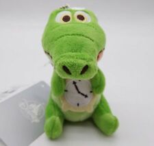 Japan Disney Store Peter Pan With key chain plush doll Tick - Tock the Crocodile