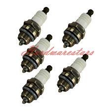 5PCS Spark Plug F Bosch WSR6F Stihl Husqvarna Echo Poulan 1110 400 7005 Chainsaw