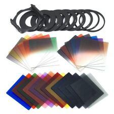 24pcs Square Full + Graduated Filter Set + 9 Size Adapter Ring Filter Holde I3I7