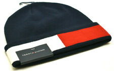 Tommy Hilfiger Men's Beanie Knit Hat Blue Multi New! NWT