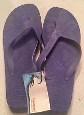 5f8f1eac5a6a2 Havaianas Purple Fashion Floral Flip Flops Sandals Women s Size 10 11