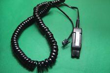 27190-01 U10P Polaris Quick Disconnect Cable for Plantronics H-series Headsets