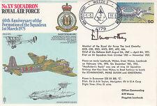 Rare RAF31d XV Sqn Signed.Marshal of RAF  The Lord Elworthy Pilot XV Sqn 1935