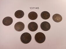 10 Canada Mixed Date Victoria Large Cents Nice Collector Grade Coins - # 131145