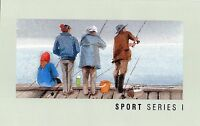 1989 Sports Series I Set Of 7 Stamp Pack, Unopened, Mint Condition