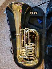 Yamaha YBB-641 Professional Rotary Tuba used brass