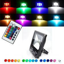 30W RGB LED Flood Light Remote Control 16 Colors 4 Modes New 85-265V Waterproof