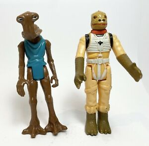 HAMMERHEAD BOSSK Vintage Star Wars Figures Original Collection Lot AFA