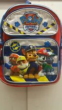 """Paw Patrol Small Backpack - 12"""" inches Brand New Licensed Product"""