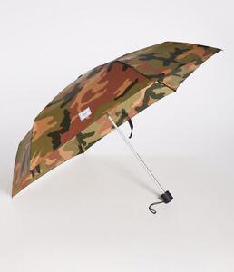 New Herschel Compact Umbrella Camo green