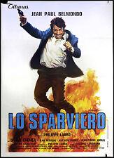 CINEMA-manifesto LO SPARVIERO belmondo, cremer; LABRO