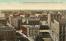 General View Showing Wholesale Section Winnipeg Manitoba Canada Postcard