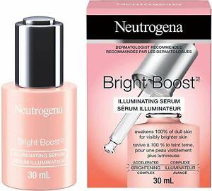 Neutrogena Bright Boost Illuminating Serum 1.0 oz. NEW