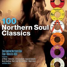 100 Northern Soul Classics Floor Fillers 4 CD Set Al Wilson Dobie Gray + more
