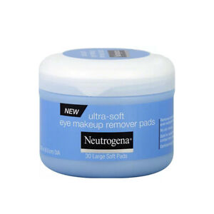 Neutrogena Ultra-Soft Eye Makeup Remover Pads 30 in a Jar