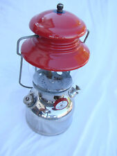 VINTAGE COLEMAN LANTERN MODEL 200 RED CHROME 1951