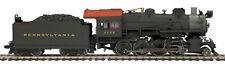 HO MTH Die-Cast Pennsylvania H-10 2-8-0 2 Rail DC w/DCC, Sound, Smoke 80-3242-1
